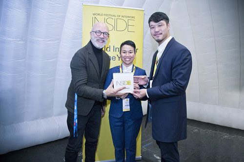CLASSROOM MAKEOVER FOR THE BLIND คว้า 2 รางวัลใหญ่จากเวทีระดับโลก INSIDE World Festival of Interiors 2019