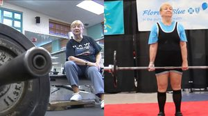 แกร่งจนรุ่นหลานต้องอาย คุณยายวัย 97 แข่งยกน้ำหนัก ได้อย่างชิล ๆ