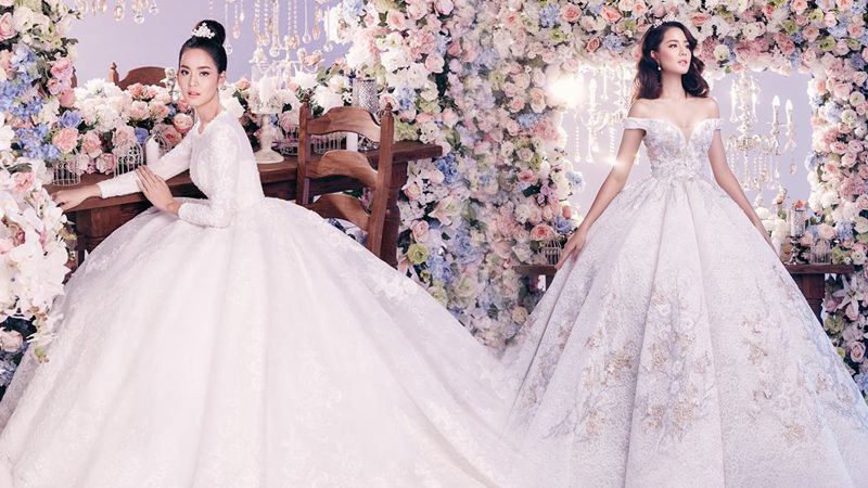 ชุดแต่งงาน สไตล์เจ้าหญิง เอาใจสาวหวาน สวยเหมือนหลุดออกมาจากเทพนิยาย