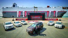 Nissan ประเทศไทย ฉลองความสำเร็จ ผลิตรถยนต์เพื่อการส่งออกครบ 1 ล้านคัน
