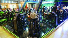 Kawasaki ยกทัพรถจักรยานยนต์ชุดใหญ่แสดงในงาน BMF 2019