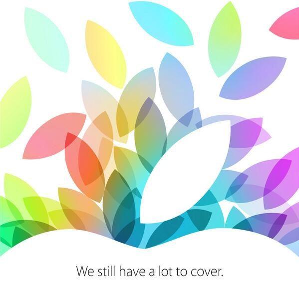 LIVE! รายงานสดเปิดตัว iPad 5, iPad mini 2, และตระกูล Mac!