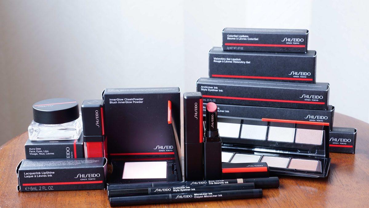 เปิดกล่องเครื่องสำอางแบรนด์หรู Shiseido