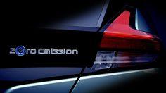 Teaser มาแล้ว All-New Leaf ตัวใหม่ล่าสุดจาก Nissan