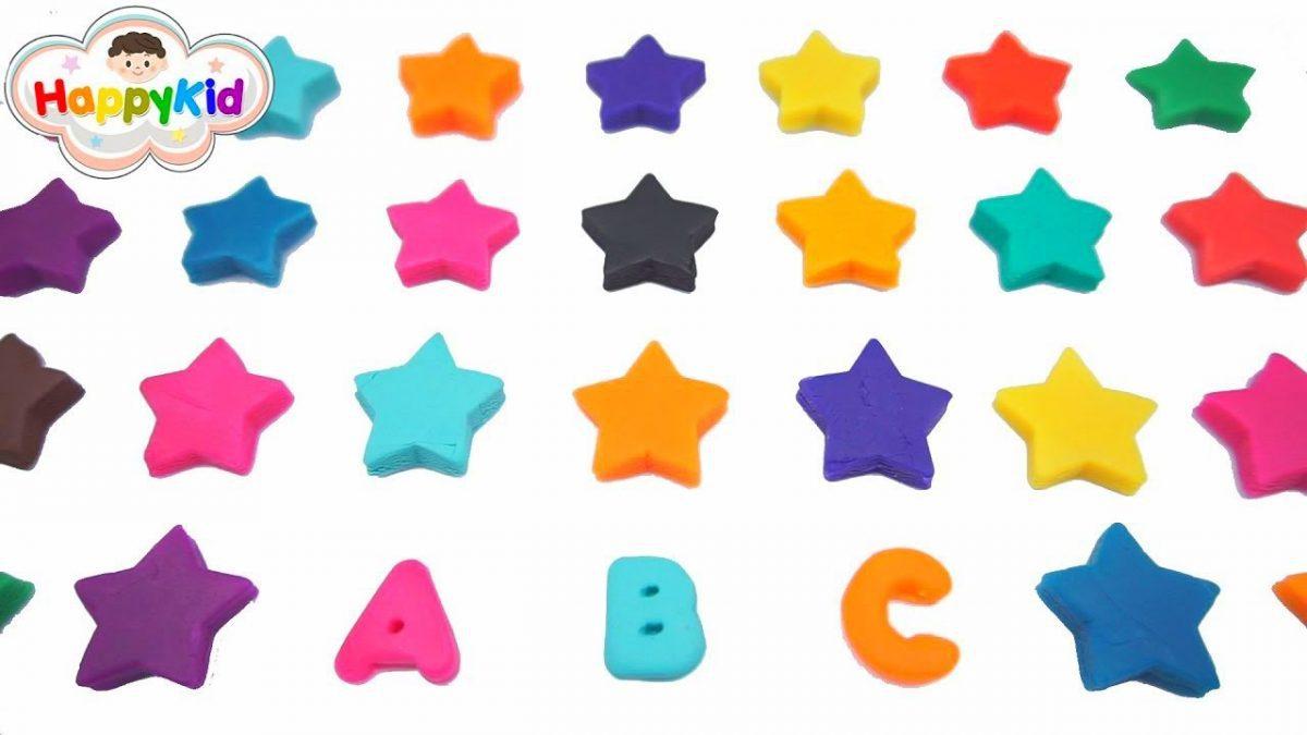 แป้งโดว์ ABC | เรียนรู้ A-Z | เพลง ABC | เรียนรู้สี | ABCDEFGHIJKLMNOPQRSTUVWXYZ
