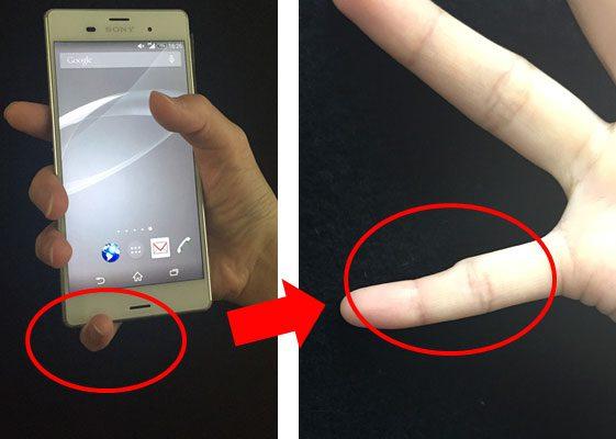 Smartphone Pinky