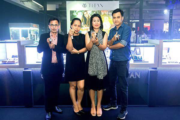 ไททัน รุกตลาดในงานมหกรรมนาฬิกาแห่งเอเชีย