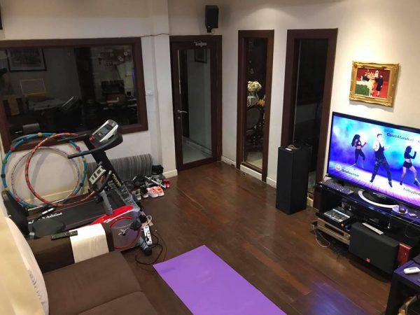 ห้องออกกำลังกายที่บ้าน