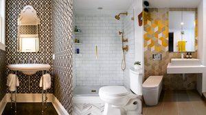 10 ไอเดียแต่ง ห้องน้ำสีขาว ขนาดเล็ก ใครว่าจะแต่งให้เด็ดไม่ได้!?!