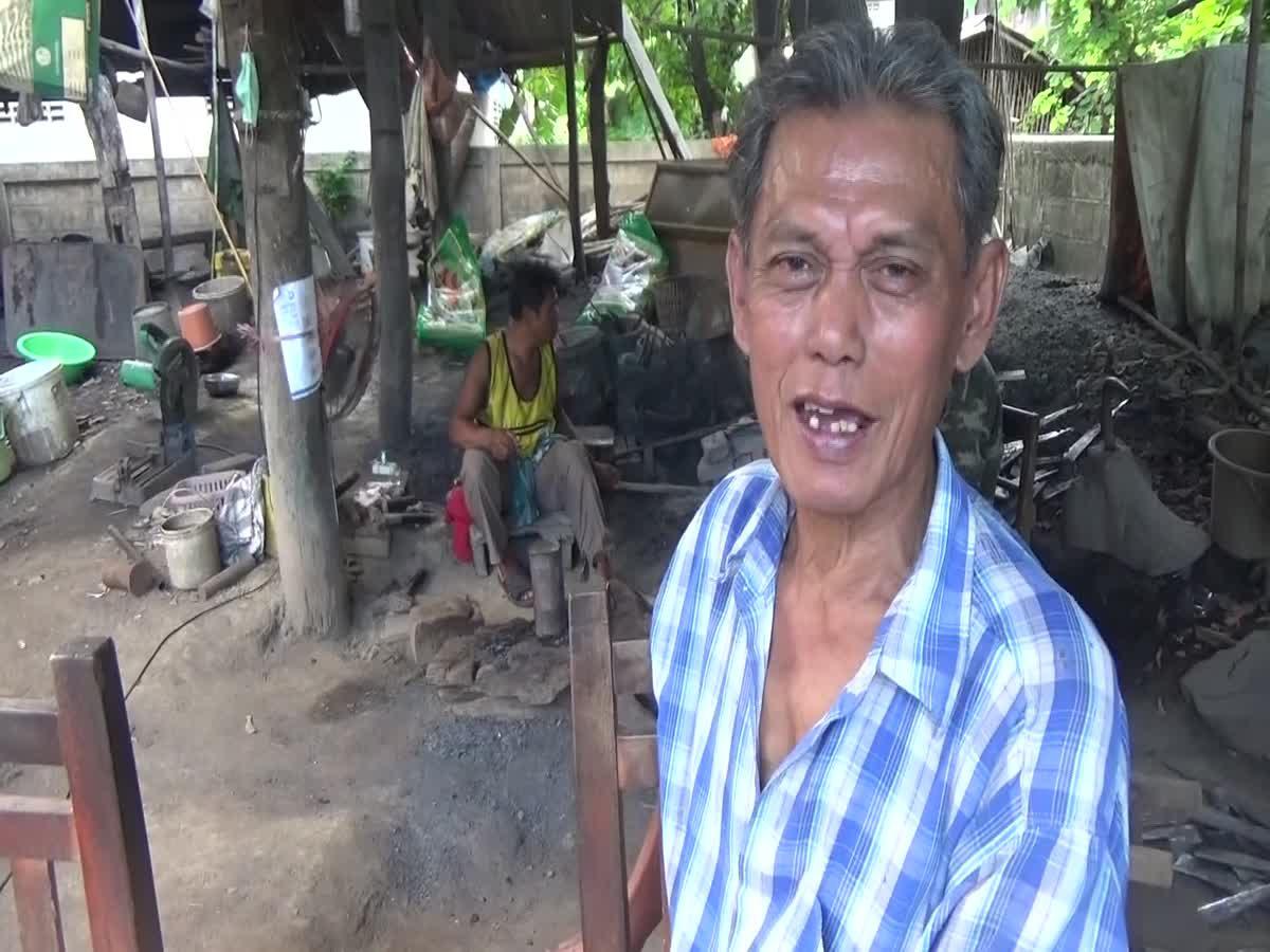 ชาวบ้านร่องไฮ! สืบทอดตีมีดโบราณกว่า 100 ปี สร้างรายได้