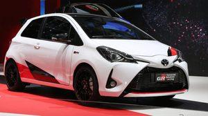 เผยโฉมหน้าตัวจริง Toyota Yaris GRMN ตัวซิ่งวิ่งแรงจาก Toyota