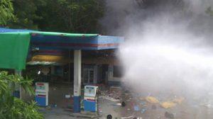 ตามจับ 4 คนร้ายยิง-ระเบิดในปั๊มที่ปัตตานี