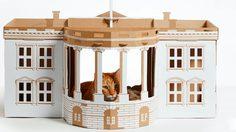 สุดครีเอท! จาก ลังกระดาษ ธรรมดา กลายมาเป็น บ้านสัตว์เลี้ยง Landmark ประเทศต่างๆ