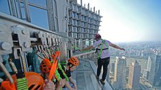 เหยียบเมฆชมเมืองจีนที่ JIN MAO TOWER ตึกสูงเสียดฟ้า