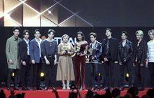 คนบันเทิงตบเท้ารับรางวัล MThai Top Talk-About 2019