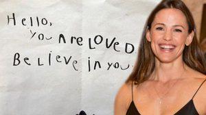 เจนนิเฟอร์ การ์เนอร์ เจอจดหมายรักสุดหวาน ของลูกชายวัย 5 ขวบ!