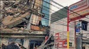 เกิดเหตุตึกถล่มในจาการ์ตาซ้ำร้ายสถานการณ์น้ำท่วม