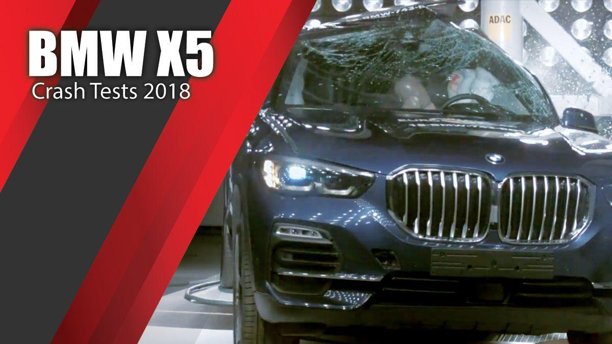 ท้าพิสูจน์ระบบรักษาความภัยของ BMW X5 - Crash Tests 2018