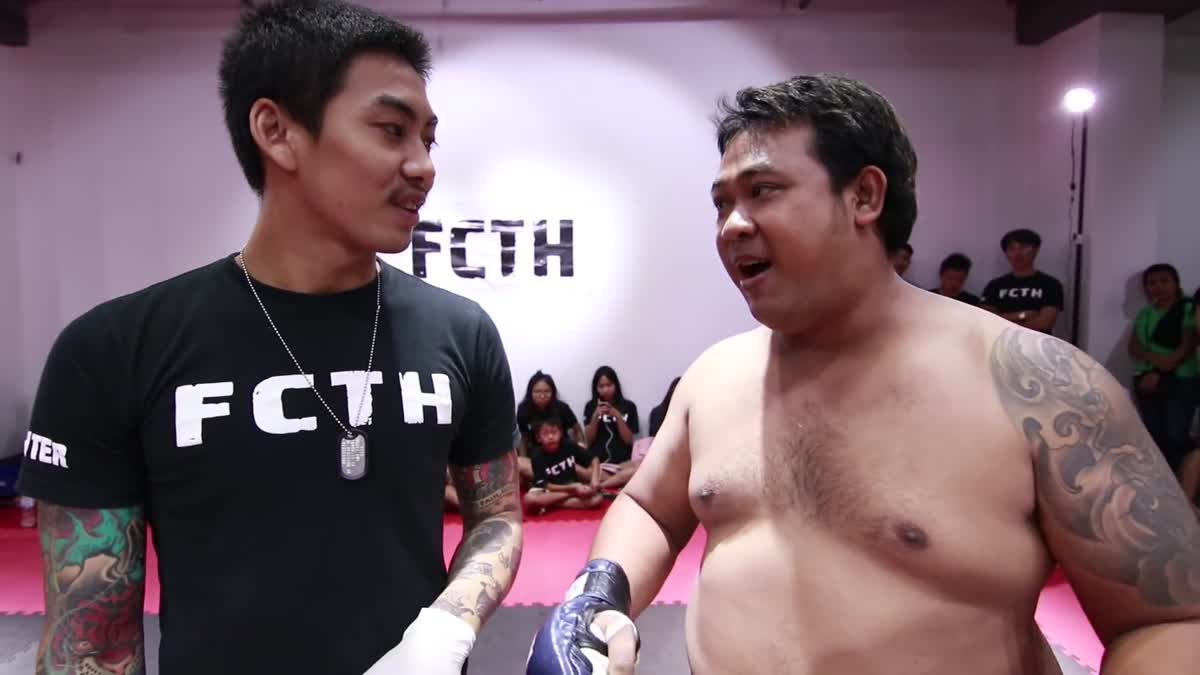 Fight Club Thailand ส่งท้ายปี บอสตั้น x ป็อบ ริคิชิ คู่ที่ 200
