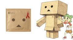 ถุงยางหุ่นยนต์กระดาษลัง Danbo ไอเทมสุดแนวจาก Okamoto