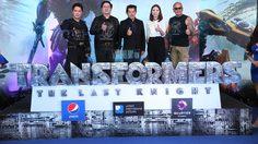 โชว์จัดเต็ม เอ๊ะ จิรากร ทำเซอร์ไพรส์ งานรอบสื่อ Transformers: The Last Knight