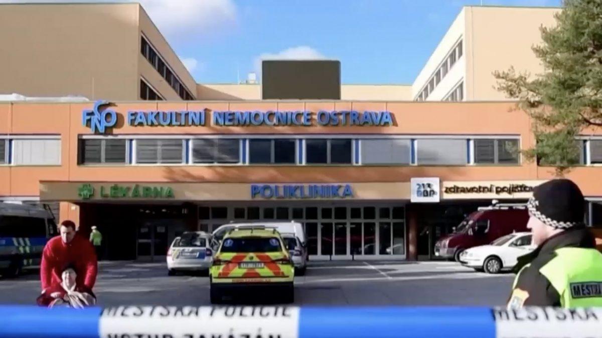 กราดยิงโรงพยาบาลในสาธารณะรัฐเช็ก