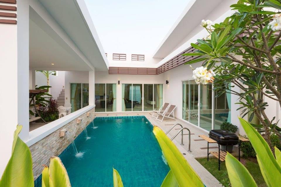 10 บ้านพักพูลวิลล่าที่หัวหิน The Elegance (2B) House Hua Hin Pool Villa - เดอะเอลลิแก๊นซ์