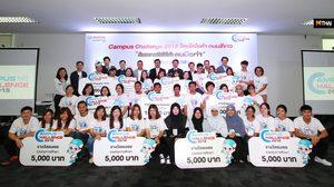 Toyota ประกาศผลรางวัลการประกวด ในกิจกรรม Toyota Campus Challenge 2018