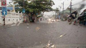 อุตุฯ เผยทั่วไทยยังมีฝนฟ้าคะนอง-กทม. ร้อยละ 30 ของพื้นที่