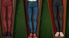 ฟันธง! แฟชั่นผู้ชายตอนนี้ หมดยุค ยีนส์ขาเดฟ Super skinny ไปแล้ว