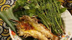 สูตร กุ้งแม่น้ำเผาสะเดาน้ำปลาหวาน รสชาติกลมกล่อม