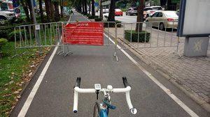คนใช้ตัวจริง 'งง' เอาแผงเหล็กกั้น แก้ปัญหา จยย.วิ่งทางจักรยาน