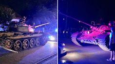 หนุ่มโปแลนด์เมาหนัก ขโมย รถถัง สมัยสงครามโลกครั้งที่ 2 ออกมาขับเล่นทั่วเมือง