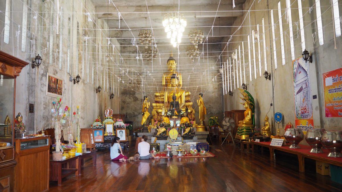 Wat Glang Khlawng Sa-Bua, Ayutthaya