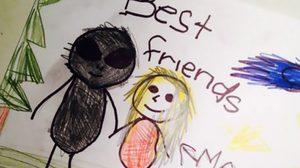 9 ภาพวาดชวนหลอน ฝีมือของเด็กๆ ที่ทำให้ผู้ใหญ่ต้องขนลุก