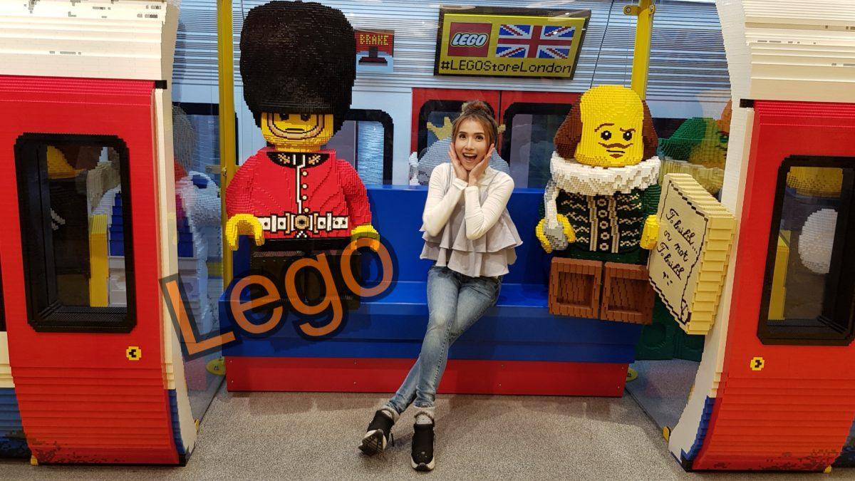 เที่ยวเล่น ร้านตัวต่อเลโก้ ที่ใจกลางกรุงลอนดอน