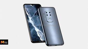 หลุดดีไซน์สมาร์ทโฟน Motorola รุ่นใหม่ มาพร้อมกล้องหลัง 4 ตัวรุ่นแรก