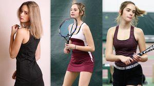เปิดวาร์ป! Makenzie Raineสาวน้อยนักเทนนิสวัย14 ที่กำลังฮอตกระหึ่มโซเชียล