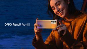 """เปิดตัวต้อนรับวาเลนไทน์ OPPO Reno5 Pro 5G สมาร์ทโฟน 5G ดีไซน์พรีเมี่ยม ถ่ายวิดีโอ Portrait สวยที่สุด คอนเฟิร์มโดยคู่รักนักเดินทาง """"บาส – เบลล์"""" คอนเทนต์ครีเอเตอร์สายท่องเที่ยว"""