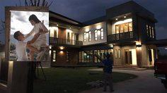 น่าชื่นชม! คู่รักวัยรุ่นเก็บออมสร้าง บ้านแนวโมเดิร์น ลอฟท์ แต่งงานสร้างครอบครัว