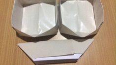 D.I.Y. วิธี พับกระทงกระดาษใส่อาหาร ลดขยะ ลดการใช้โฟม ลดโลกร้อน