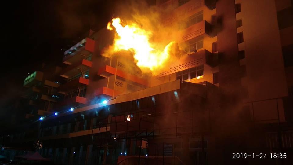 แผนหนีไฟ, โรงพยาบาลจังหวัดเลย, ข่าวจังหวัดเลย, ไฟไหม้โรงพยาบาล, ข่าวสดวันนี้