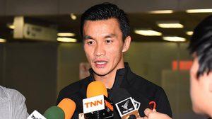 """สินทวีชัย : """"การเล่นให้ ทีมชาติไทย มันเป็นสิ่งที่ศักดิ์สิทธิ์และมีค่ามากสำหรับผม"""""""