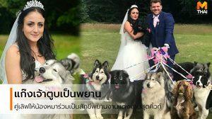 Love me Love my DOG คู่เลิฟให้แก๊งตูบ ร่วมเป็นสักขีพยาน ในวันแต่งงานสุดคิวท์