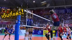 รูปเกมสู้ได้!! วอลเลย์บอลหญิงไทย พ่าย เกาหลีใต้ 0-3 ควงแขนลิ่วรอบสุดท้าย ชิงแชมป์โลก2018 ทั้งคู่