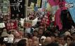 ชาวญี่ปุ่นประท้วงต่อต้านกฎหมายใหม่
