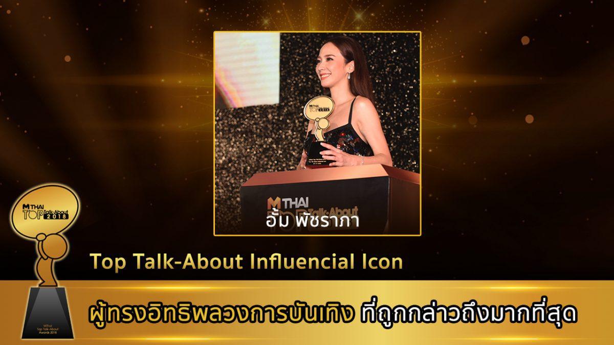 ประกาศรางวัลที่ 11 Top Talk-About Influential Icon (รางวัลพิเศษ)