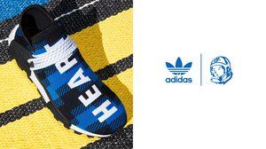 adidas Originals และ Pharrell Williams เผยโมเดลใหม่ล่าสุด BBC HU NMD PLAID