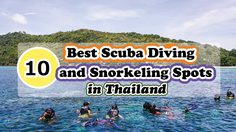 10 Best Scuba Diving and Snorkeling Spots in Thailand