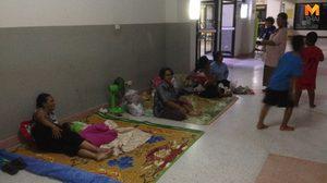 รับมือพายุปาบึก! อ.สิชล-อ.ท่าศาลา ทยอยอพยพคนแก่คนป่วยติดเตียง อยู่ที่ปลอดภัย
